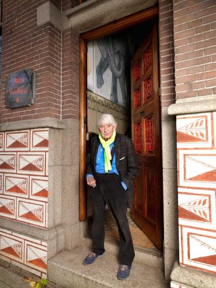 Aat Veldhoen  voordeur 2016