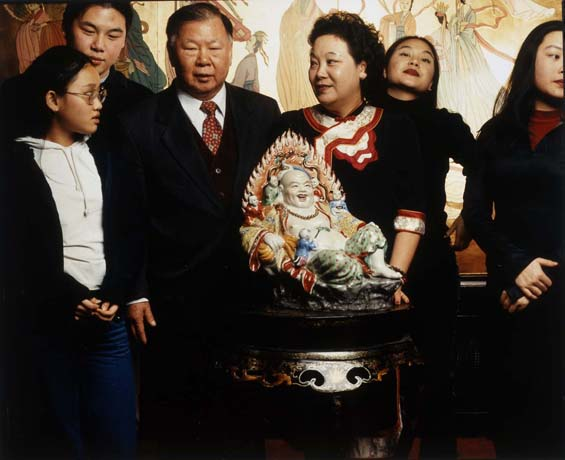 China town Amsterdam Lo familie/Stadsarchief Amsterdam