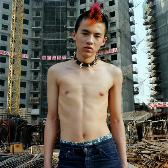 Beijing Punks Anarchy Jerks singer Shen Yue