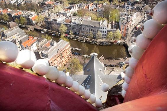Westertoren seen from the Crown