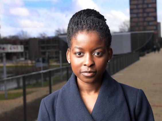 refugee student Angola Márcia Ventura Tiago :UAF