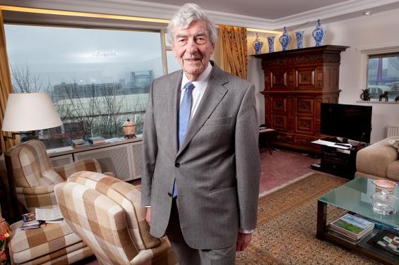 Ruud Lubbers in zijn huis 2014