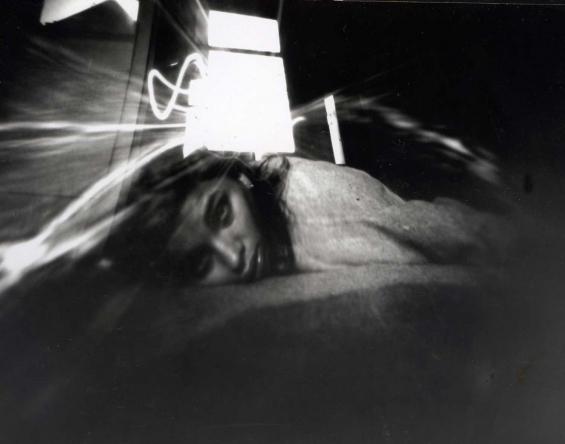 pinhole- ore camera obscura self-portrait venus