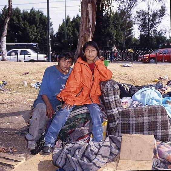 UNICEF Street child Mexico city