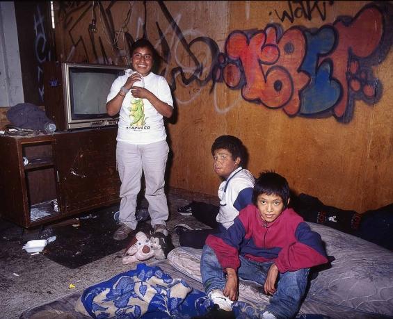 UNICEF Street childeren Mexico city